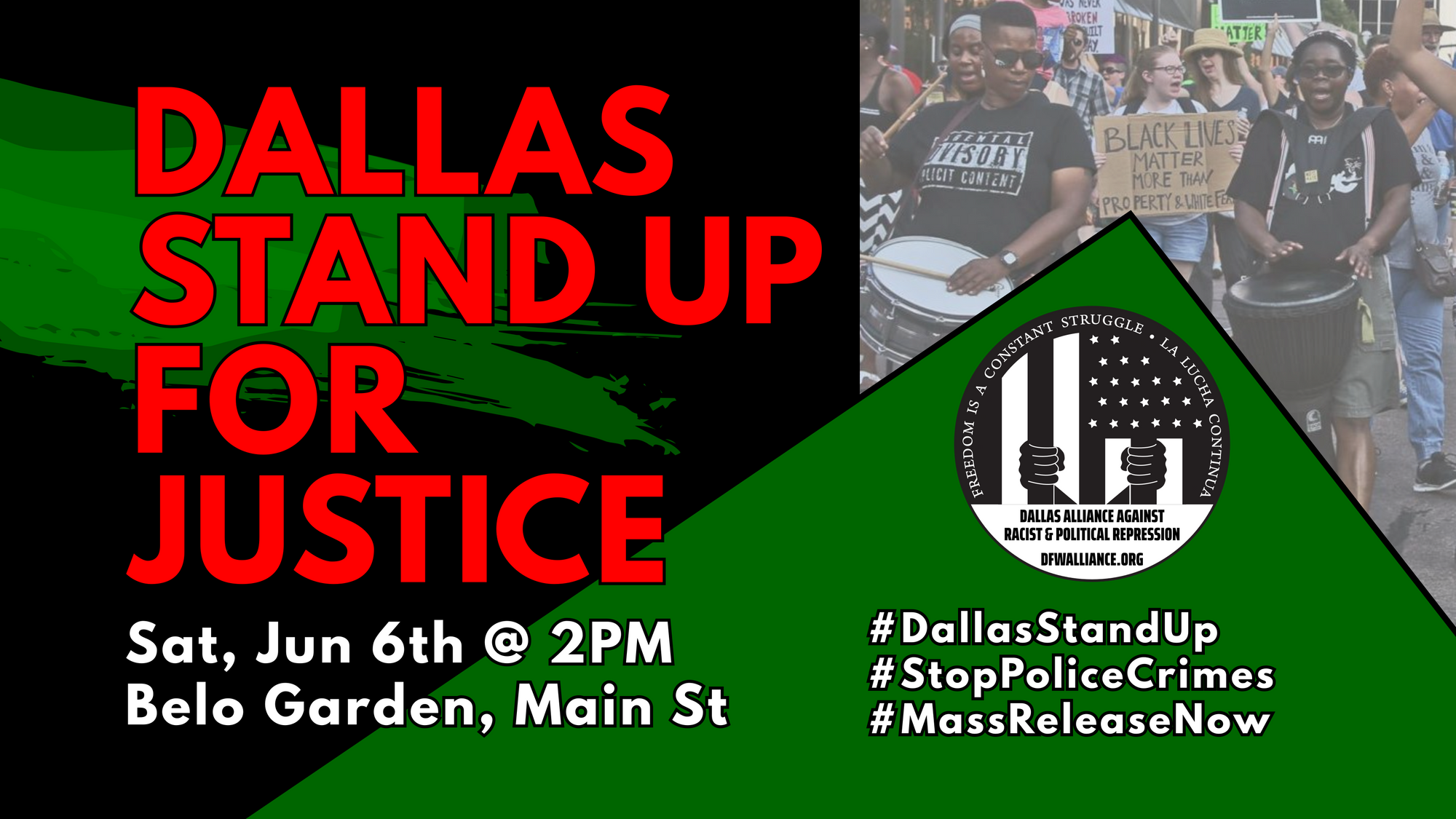 Dallas Stand Up for Justice
